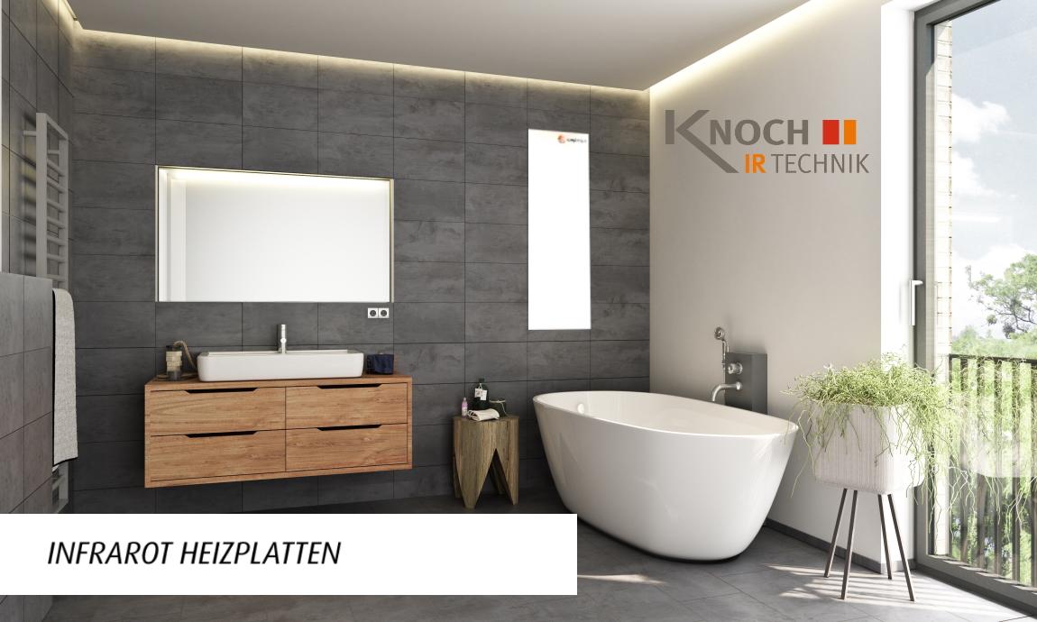 Infrarotheizung für Ihr Bad von ComfortSun
